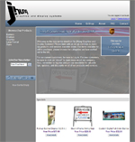 Online ordering for graphics, signs, banners, and tradeshow displays